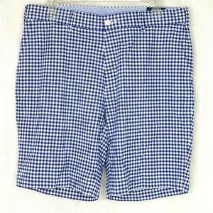 Polo Ralph Lauren Shorts Men Size 33 Blue White